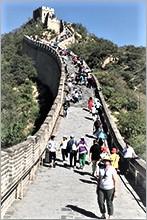 Melissa at Great Wall of China