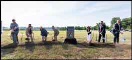 Groundbreaking ceremony for Pueblo hydroplant