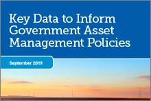 Key data to inform government asset management policies