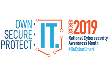 October 2019 National Cybersecurity Awareness Month