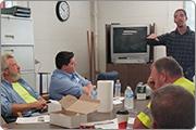 Trafficking awareness training at Aqua Illinois