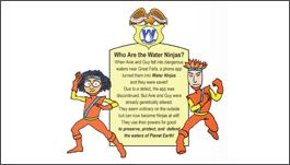 Water Ninjas Avie and Guy