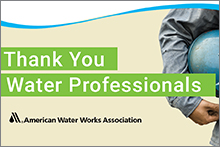 Thank You Water Professionals