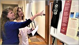 Uzi Daniel and Sue Mosburg, CA-NV Section, at poster contest.