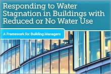 Responding to Water Stagnation in Buildings with Reduced or No Water Use