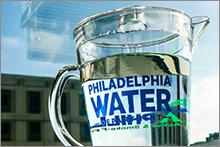 Philadelphia Water pitcher