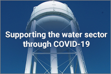 supporting the water sector through COVID-19