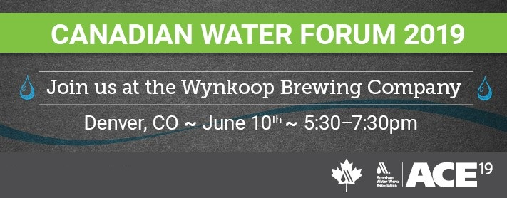 Canadian Water Forum 2019