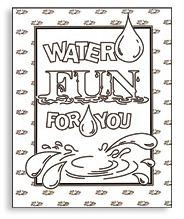 Sixteen Pages Filled With Drinking Water Themed Activities For Younger Children Including Coloring Crossword Puzzles And Word Games